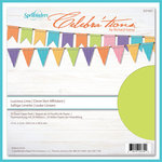 Spellbinders - Celebrations Collection - 12 x 12 Paper Pack - Luscious Lime