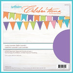 Spellbinders - Celebrations Collection - 12 x 12 Paper Pack - Lovely Lavender