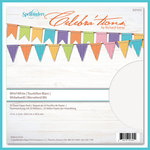 Spellbinders - Celebrations Collection - 12 x 12 Paper Pack - Whirl White