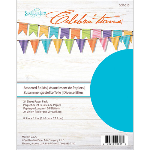 Richard Garay - Celebrations Collection - 8.5 x 11 Paper Pack - Assorted Solid