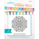 Richard Garay - Celebrations Collection - Clear Acrylic Stamps - Doily Fun
