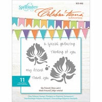 Richard Garay - Celebrations Collection - Clear Acrylic Stamps - My Friend