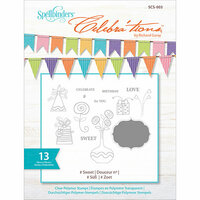 Richard Garay - Celebrations Collection - Clear Acrylic Stamps - Sweet