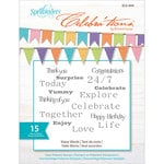 Richard Garay - Celebrations Collection - Clear Acrylic Stamps - Many Words