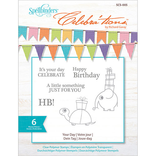 Richard Garay - Celebrations Collection - Clear Acrylic Stamps - Your Day