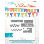 Richard Garay - Celebrations Collection - Clear Acrylic Stamps - Tape It