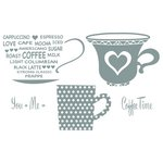 Richard Garay - Celebrations Collection - Clear Acrylic Stamps - Cup for Two