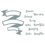 Richard Garay - Celebrations Collection - Clear Acrylic Stamps - Beautiful Friend