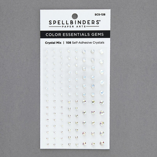 Spellbinders - Self Adhesive Gems - Crystal Mix