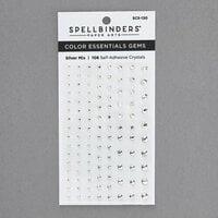 Spellbinders - Self Adhesive Gems - Silver Mix