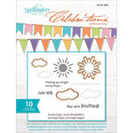 Richard Garay - Celebrations Collection - Die and Clear Acrylic Stamp Set - Sunny Days