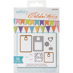 Richard Garay - Celebrations Collection - Die and Clear Acrylic Stamp Set - Sweet Treats