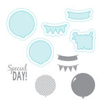Spellbinders - Celebrations Days Collection - Die and Clear Acrylic Stamp Set - Special Day