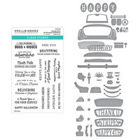Spellbinders - Liberty Collection - Etched Dies and Clear Photopolymer Stamps - Sunday Drive - Liberty Bundle Two