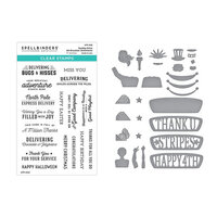 Spellbinders - Liberty Collection - Etched Dies and Clear Photopolymer Stamps - Sunday Drive - Liberty Bundle Three