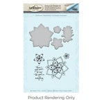 Spellbinders - Cool Vibes Collection - Die and Cling Mounted Stamps - Dot Mandala