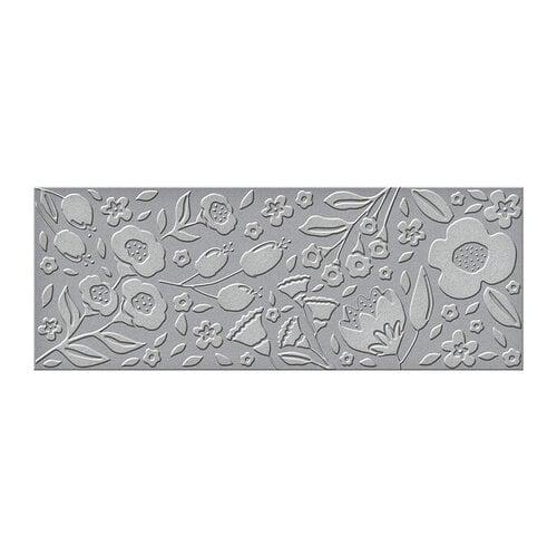 Spellbinders - Slimline Collection - Embossing Folders - Flora