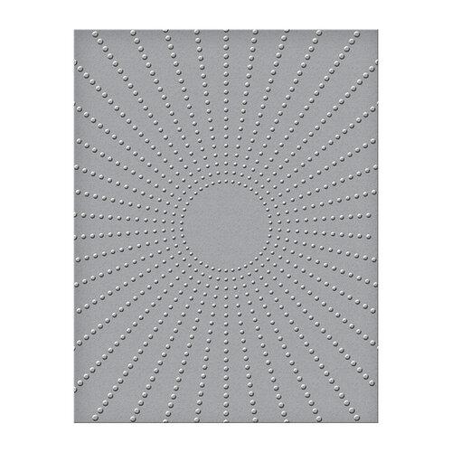 Spellbinders - Embossing Folders - Sun Rays