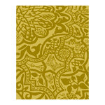Spellbinders - Silver and Gold Collection - Embossing Folder - Brocade Code