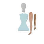 Spellbinders - Steel Rule Dies - Art Doll
