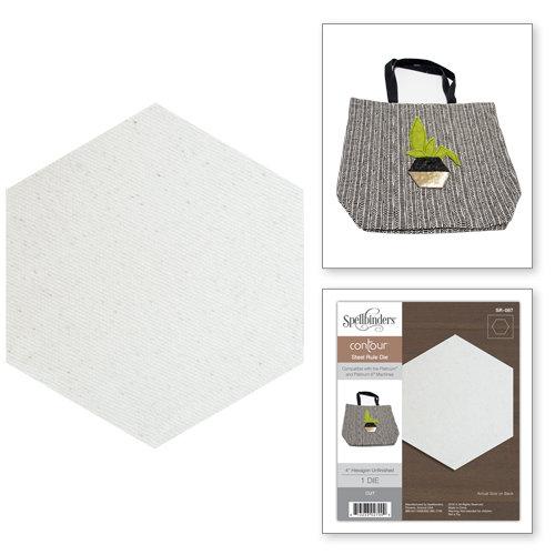 Spellbinders - Steel Rule Dies - 4 Inch Hexagon