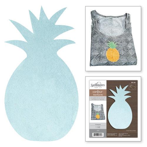 Spellbinders - Steel Rule Dies - Pineapple