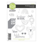 Fun Stampers Journey - Kindness Matters Collection - Cling Mounted Rubber Stamps - Kindness Is Cool