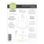 Fun Stampers Journey - Kindness Matters Collection - Cling Mounted Rubber Stamps - Sweet Birthday Wishes