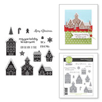 Fun Stampers Journey - Christmas - Cling Rubber Stamps - Sweet Gingerbread