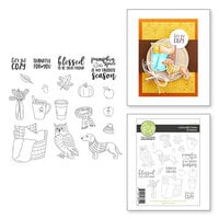 Fun Stampers Journey - Clear Photopolymer Stamps - Let's Get Cozy