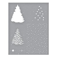 Spellbinders - Trim A Tree Collection - Stencils - Layered Christmas Tree