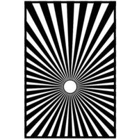 Spellbinders - Liberty Collection - Stencils - Sunburst