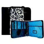 Totally Tiffany - Create and Carry Craft Binder - Black Floral