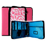 Totally Tiffany - Create and Carry Craft Binder - Pink Floral