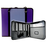 Totally Tiffany - Create and Carry Craft Binder - Purple and Lavender