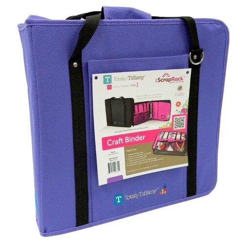 Totally Tiffany - Craft Binder - Purple