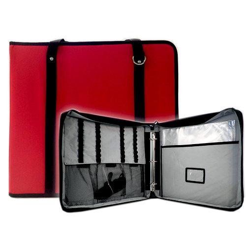 ScrapRack - TravelPack Storage Tote - Red