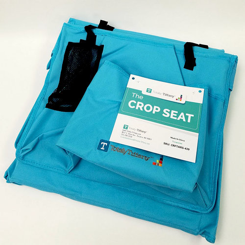 Totally Tiffany - The Crop Seat - Turquoise