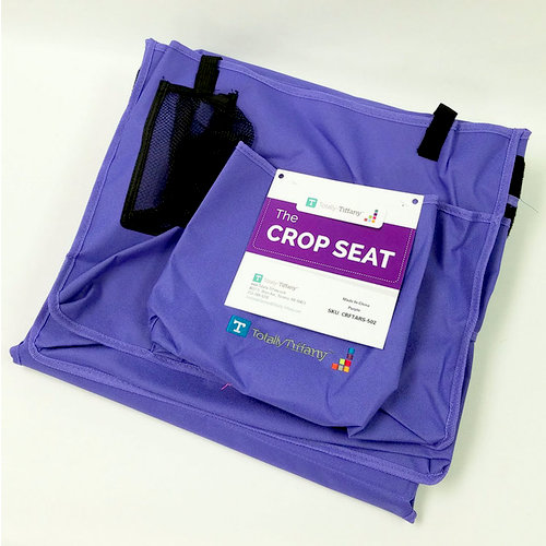 Totally Tiffany - The Crop Seat - Purple