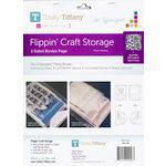 Totally Tiffany - Flippin' Craft Storage - 2 Sided Binder Page