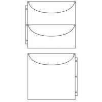 Totally Tiffany - Multicraft Storage System - Double Sided Duo 2 x 1 - 10 Pack