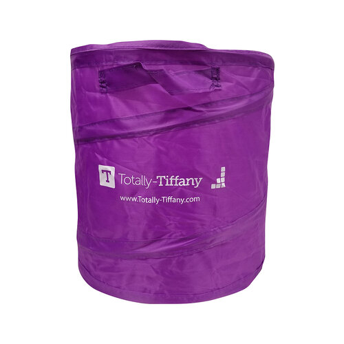 Totally Tiffany - Pop Up Trash Can - Purple