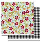 Scenic Route Paper - Garden Grove Collection - 12 x 12 Double Sided Paper - Flower Street, CLEARANCE