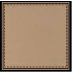 Scenic Route Paper - Garden Grove Collection - 12 x 12 Kraft Paper - Dotted Border , CLEARANCE