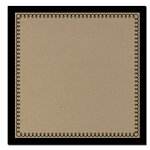 Scenic Route Paper - Garden Grove Collection - 12 x 12 Kraft Paper - Loopy Border , CLEARANCE