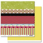 Scenic Route Paper - Garden Grove Collection - 12 x 12 Double Sided Paper - Scrap Strip 1, CLEARANCE