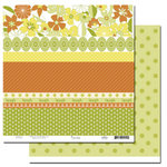 Scenic Route Paper - Garden Grove Collection - 12 x 12 Double Sided Paper - Scrap Strip 2, CLEARANCE