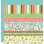 Scenic Route Paper - Designer Scrap Strips - Double Sided Cardstock - Charlotte Strip Combo 1, CLEARANCE