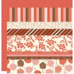 Scenic Route Paper - Designer Scrap Strips - Double Sided Cardstock - Charlotte Strip Combo 2, CLEARANCE