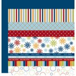 Scenic Route Paper - Designer Scrap Strips - Double Sided Cardstock - North Shore Strip Combo 2, CLEARANCE